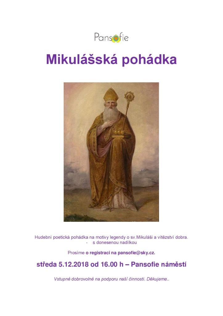 mikulášská pohádka české budějovice